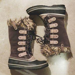 Sorel Joan of Arctic Boots size 9 shale